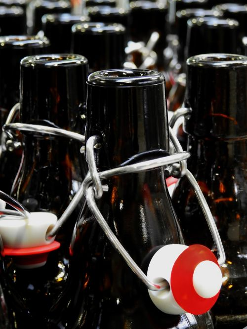 bottle iron bottle beer bottle