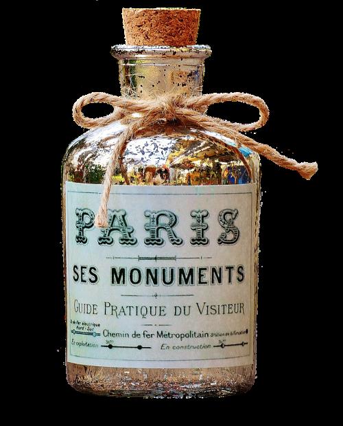 bottle decorative vessel