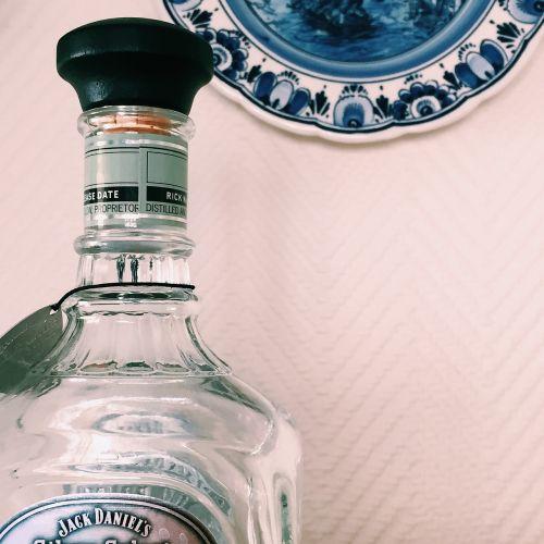 bottle empty whiskey