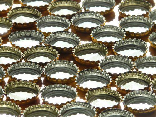 bottle caps sheet sheet metal piece