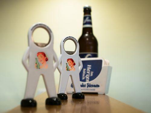 bottle opener bottle beer coasters