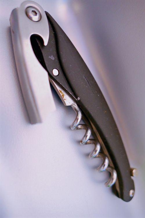 bottle opener corkscrew bottle
