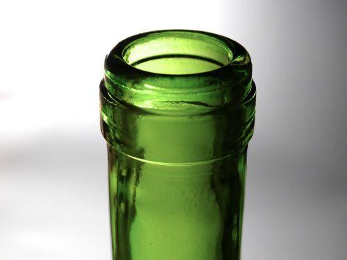 bottleneck bottle opening glass