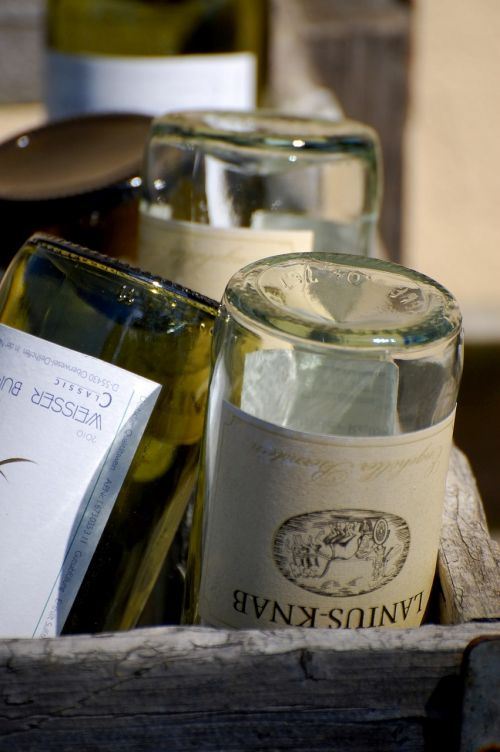 bottles wine still life