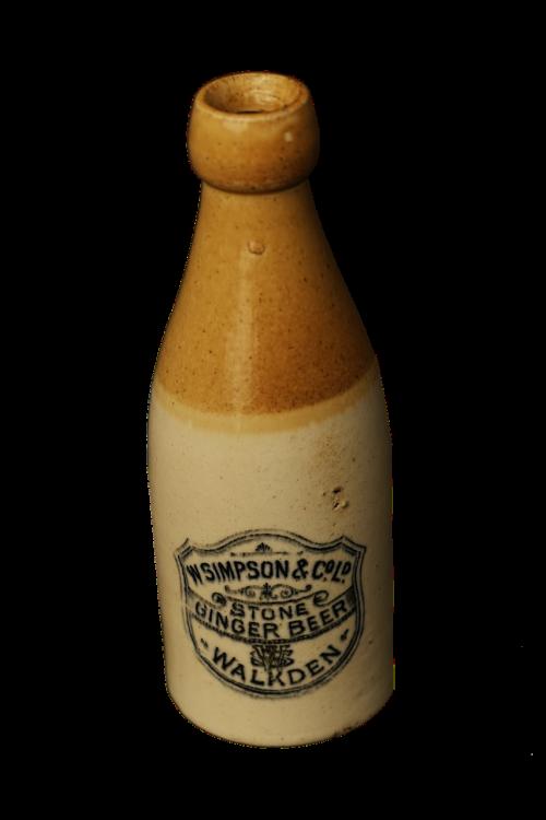 bottles old fashioned stoneware