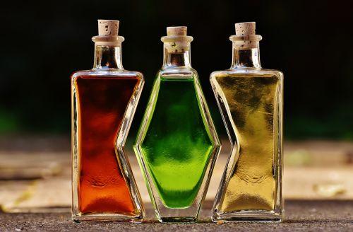 bottles alcohol form