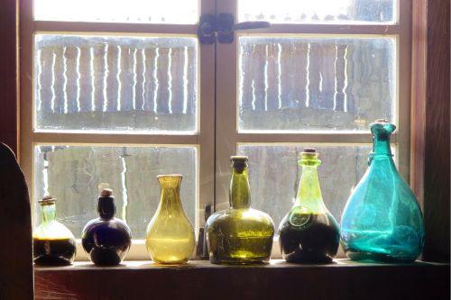 bottles windows old
