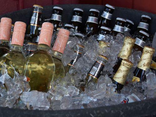bottles beer alcohol