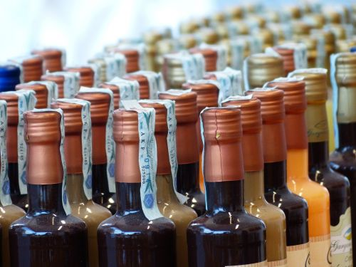 bottles closure wine bottles