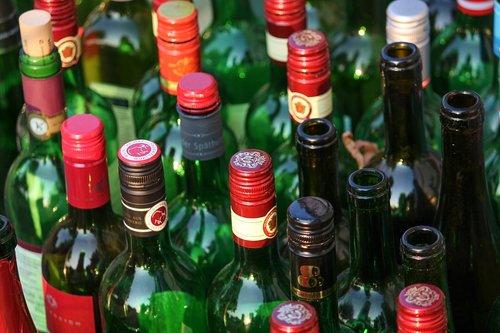 bottles  wine bottles  empty