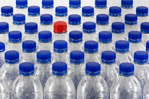 bottles  plastic  recycling