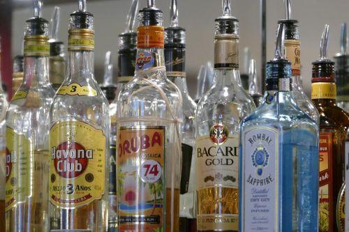bottles beverages alcohol