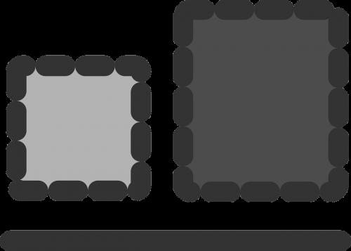 bottom align sign