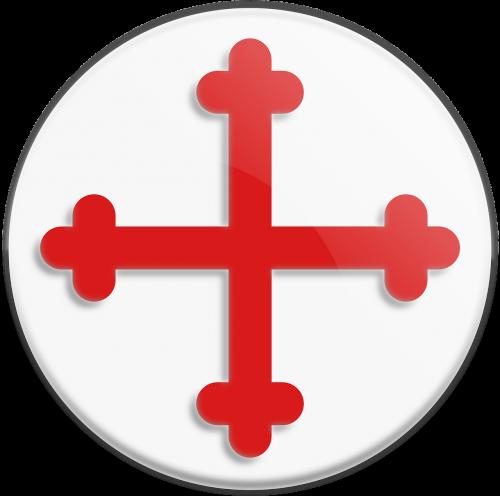 bottony cross templar