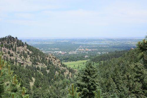 boulder landscape mountain