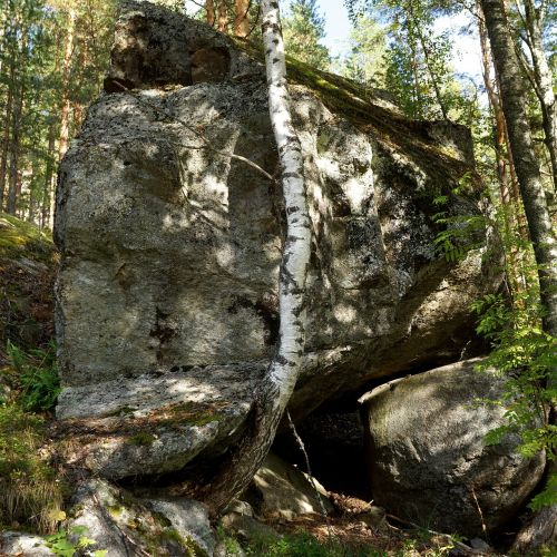 boulder stone the ice age