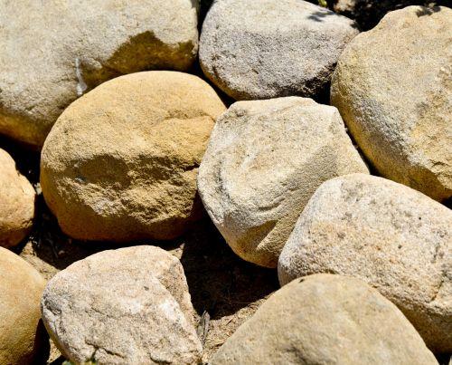 Boulder Faces In Rock