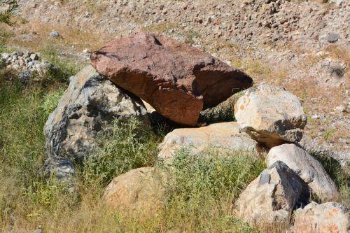 Boulder Rocks  Desert Texas Park 2