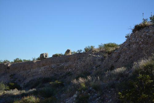 Boulder Rocks  Desert Texas Park A