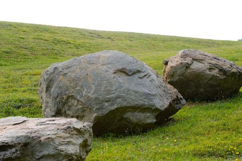 boulders rocks formation