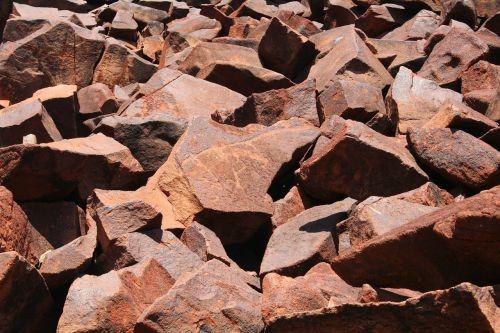 boulders rocks red