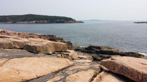 boulders ocean coastline