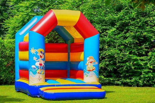 bouncy castle  air cushion  inflatable