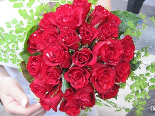 bouquet marriage bride