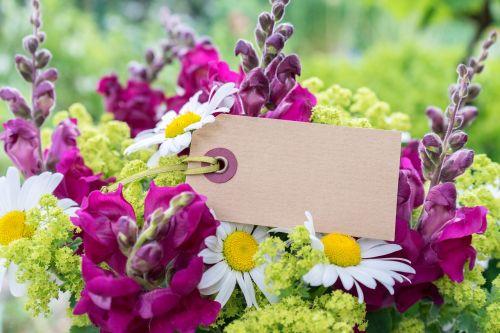 bouquet map message