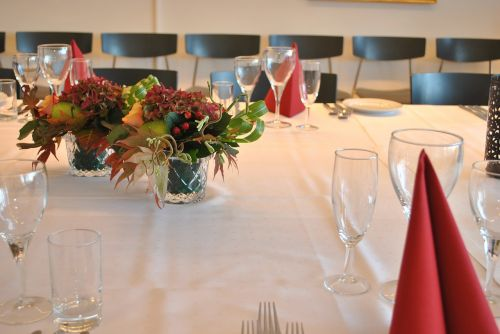 bouquet table settings setting