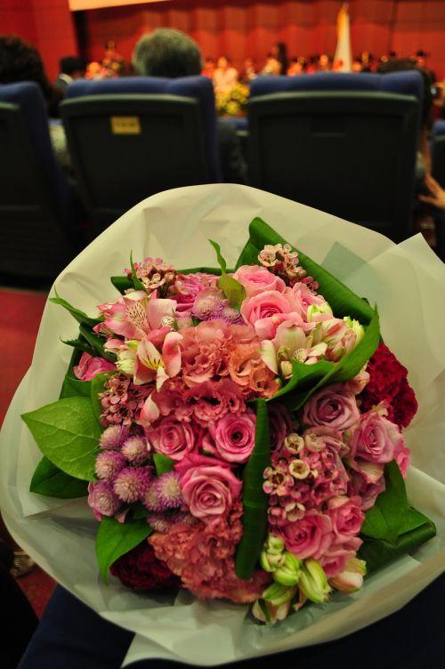 bouquet graduation graduation ceremony