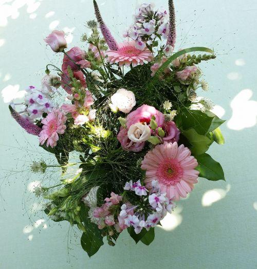 bouquet of flowers bouquet summer thx gerbera