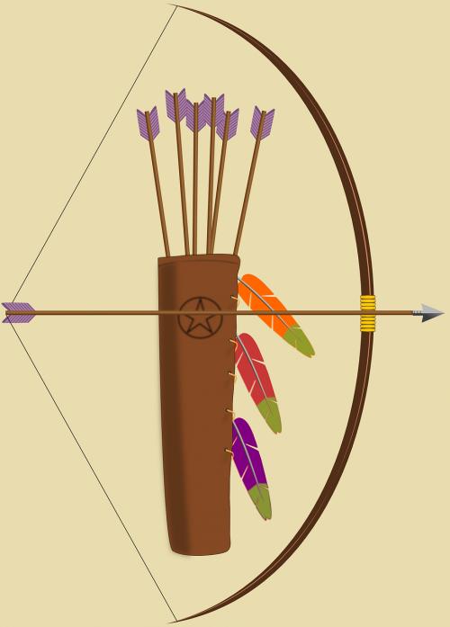 bow arrows quiver