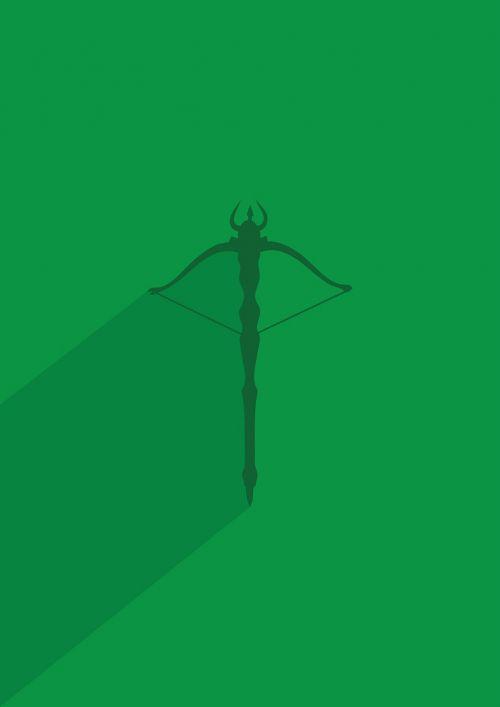 bow arrow symbol