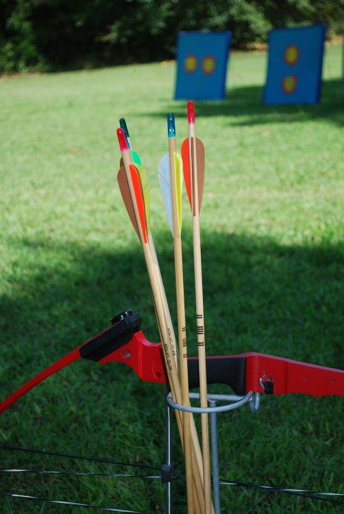 bow arrow archery