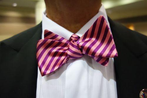 bow tie neckware man