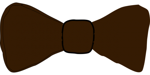 bow-tie bow tie brown