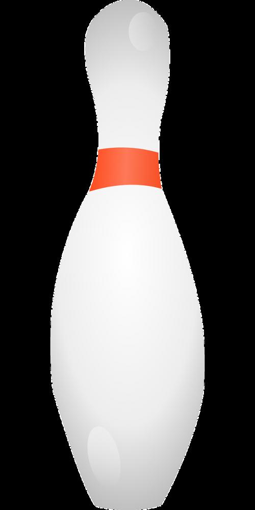 bowl bowling pin