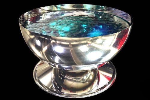 bowl metal dish