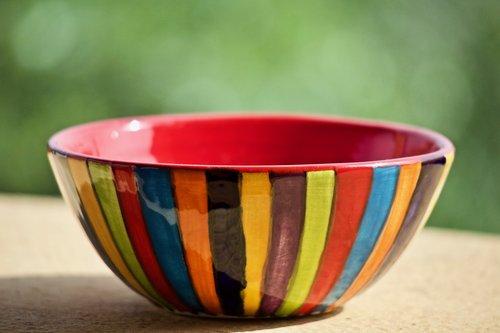 bowl  ceramics  vase