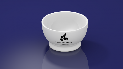 bowl muesli morning