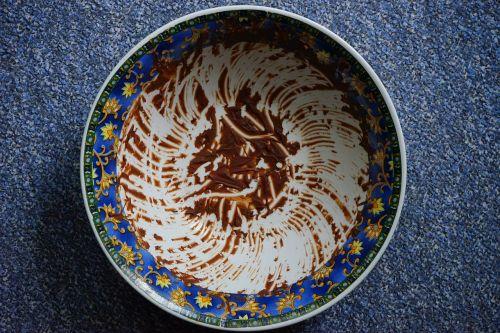 bowl mixing bowl dirty