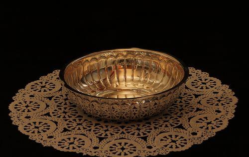 bowl metal silver