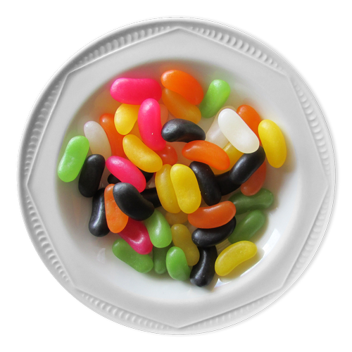 bowl of jelly beans  jelly beans  bowl