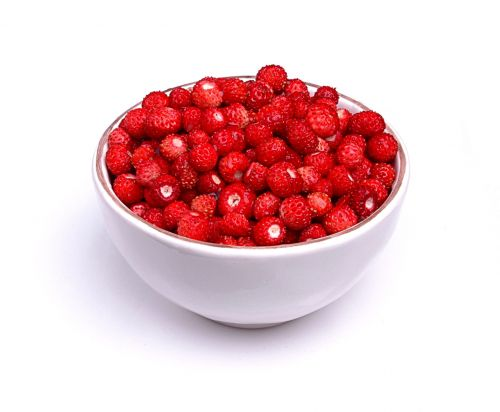 Bowl With Wild Strawberries
