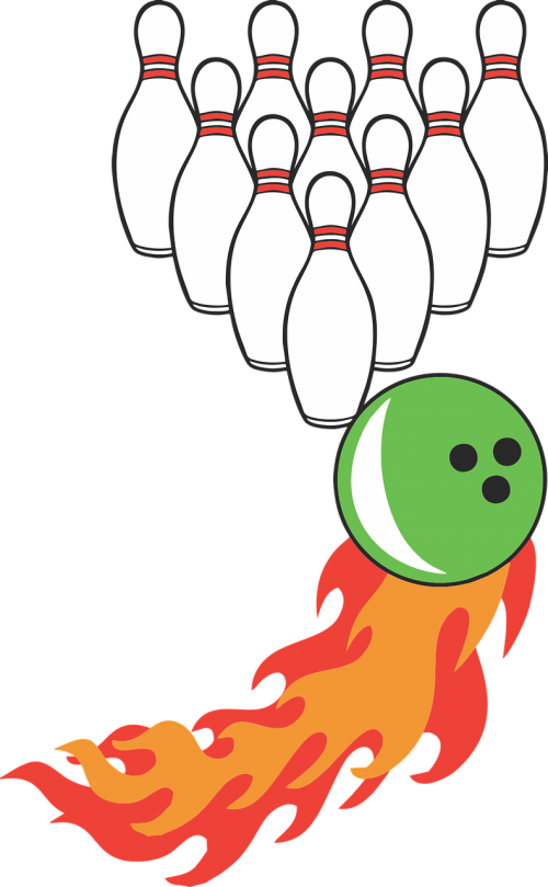 bowling bowling ball bowling pin