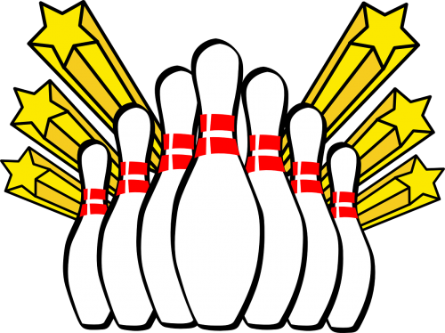 bowling ten pin strike