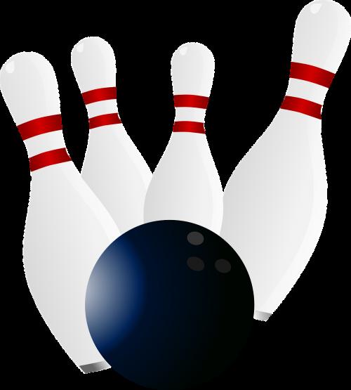 bowling bowling pins strike