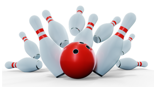 bowling  strike  ball
