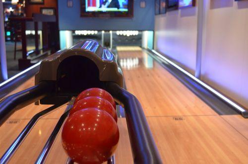 bowling ball bowling alley
